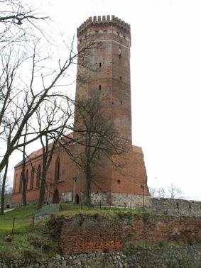 Wieża zamkowa, fot. Michał Starski