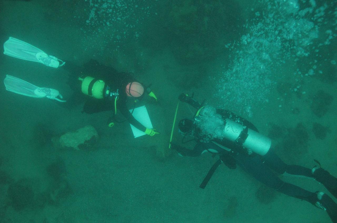 Badania podwodne na Krymnie, fot. Underwater Expedition IAUW