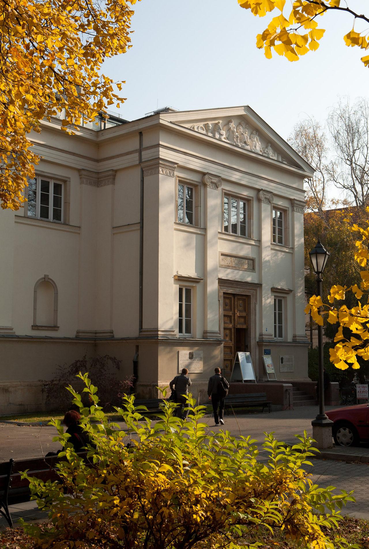 Budynek Instytutu Archeologii UW