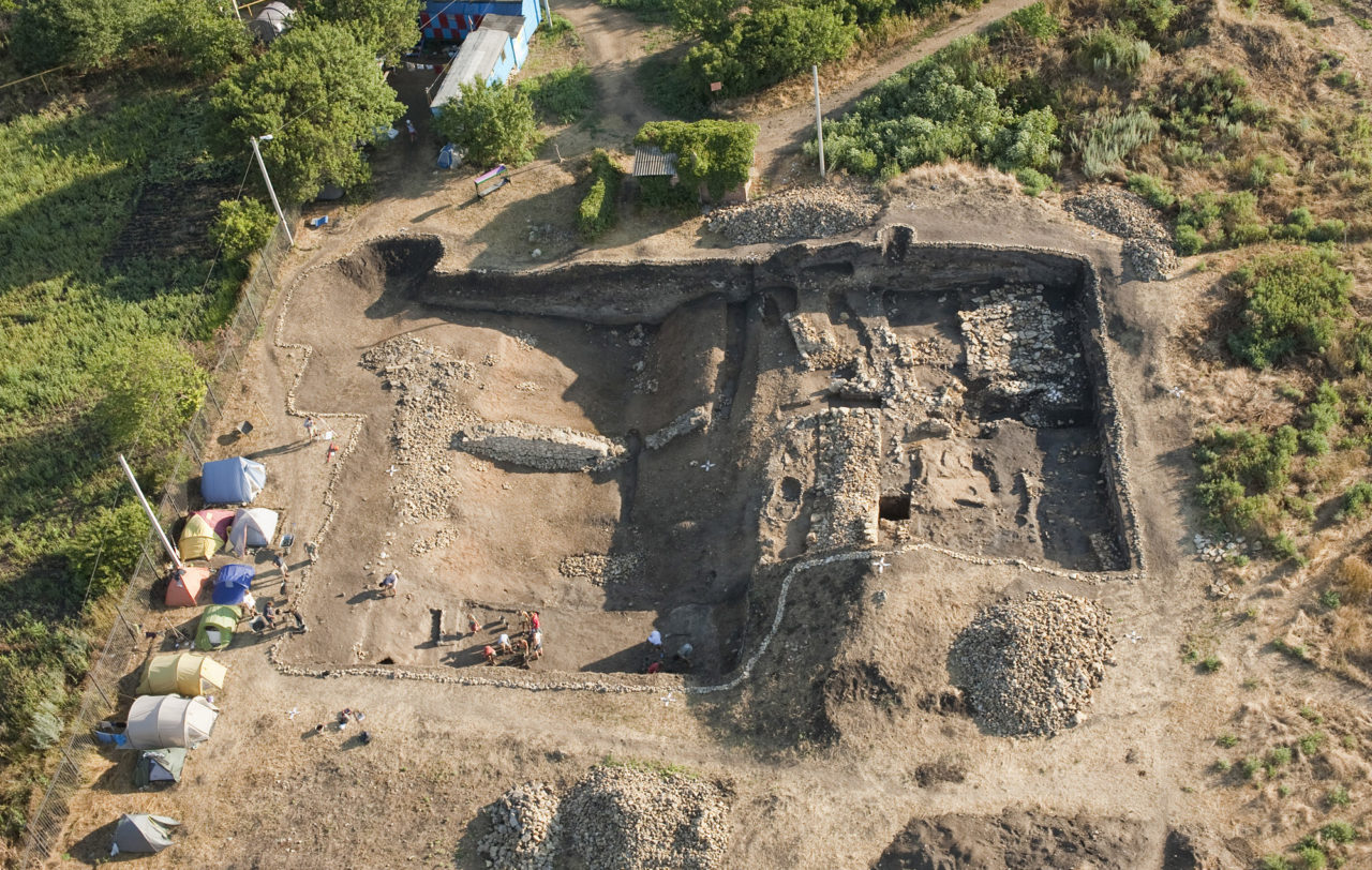 Wykopaliska w Tanais (2010 r.), fot. Miron Bogacki