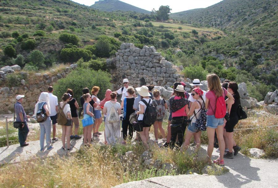 Didactical study tour in Greece – Mycenae' 2017, photo A. Łaszcz