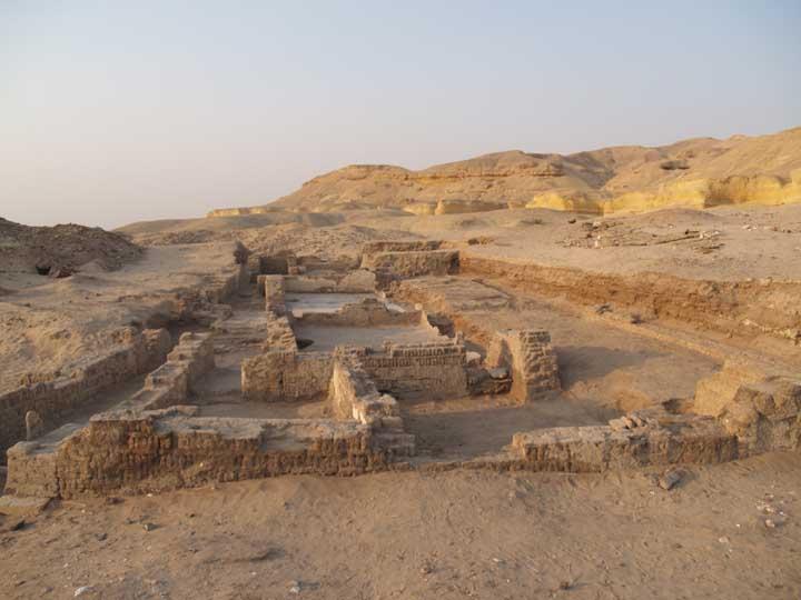 Naqlun (Nekloni) - klasztor w Fajum, Egipt