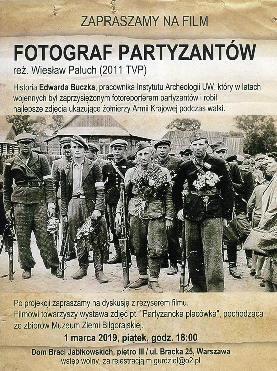 Fotograf Partyzantów - plakat