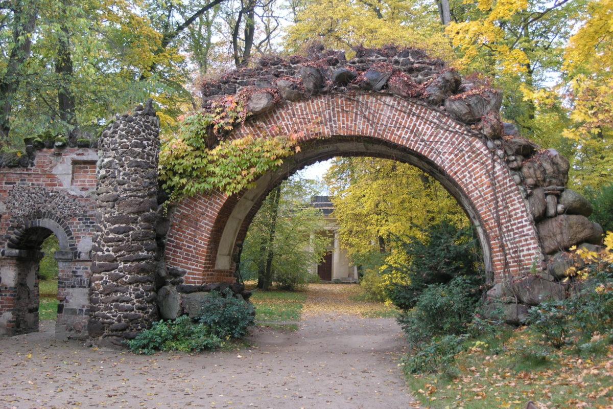 Arcadia Romantic Park near Nieborów